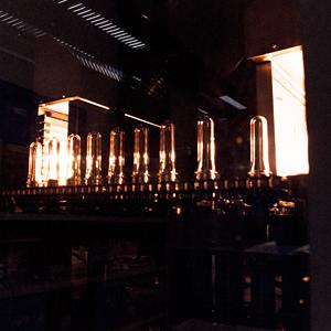 ボトルの成形過程
