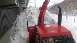 軒下除雪1
